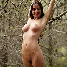 Muriel in the forest