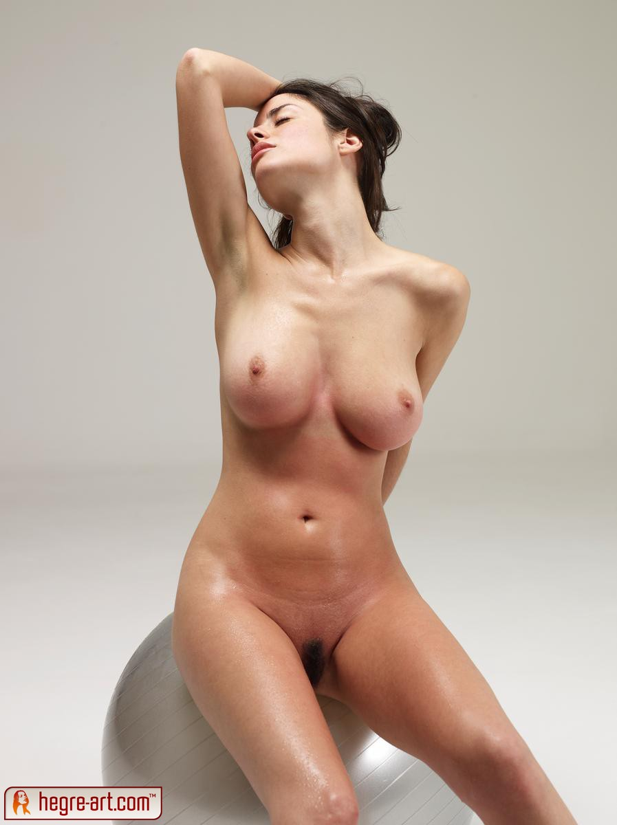 Nude girls doing exercise consider