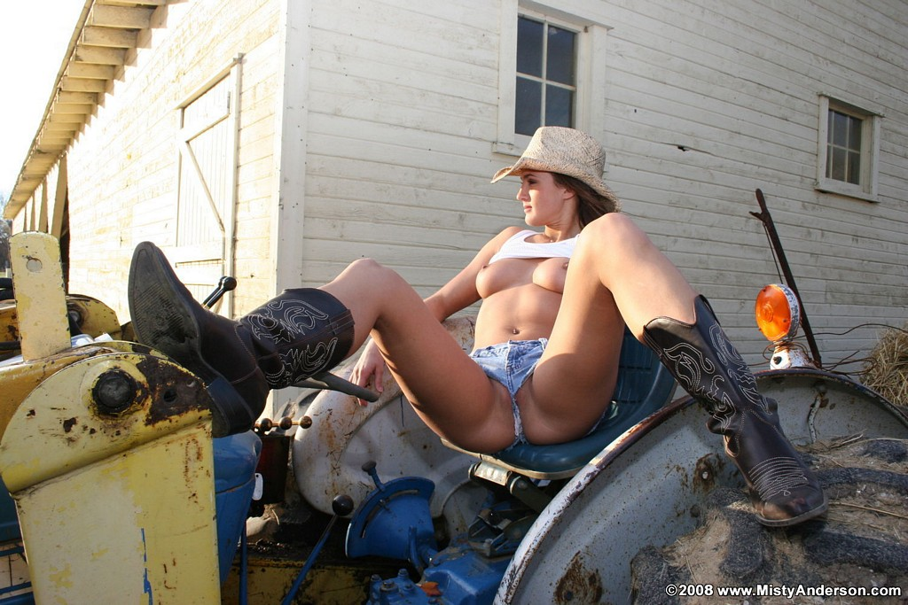farm girl anderson Misty