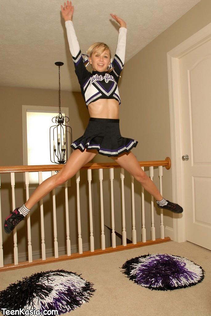 young naked teenage girl cheerleaders