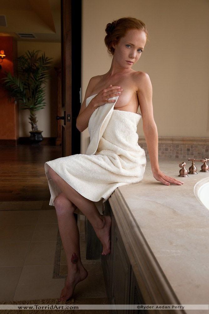 Redhead Heather nude