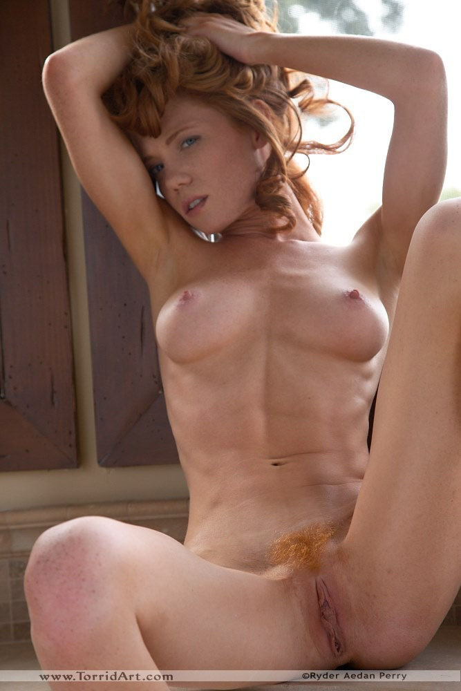 Nude art model abby