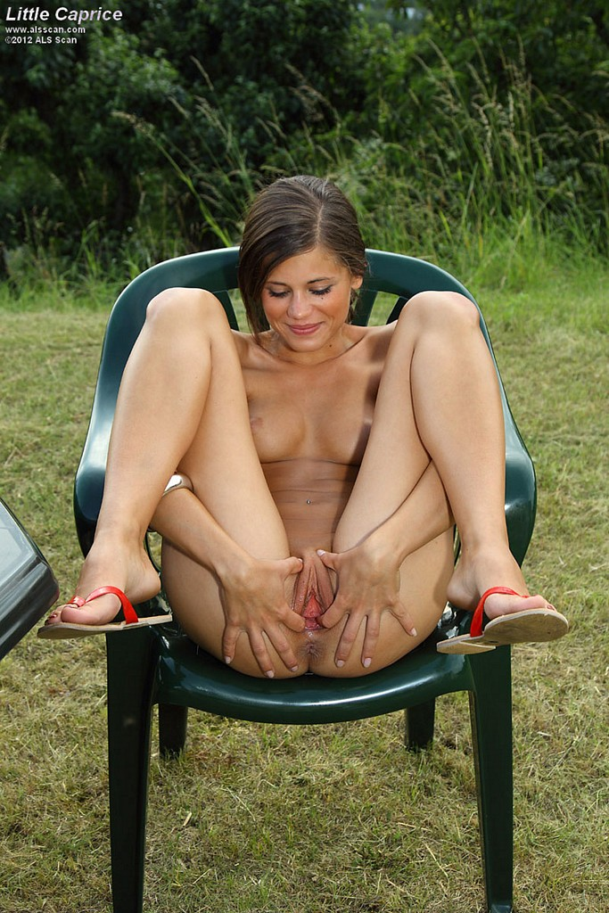 Especial. pity, Naked girl outside with toys opinion