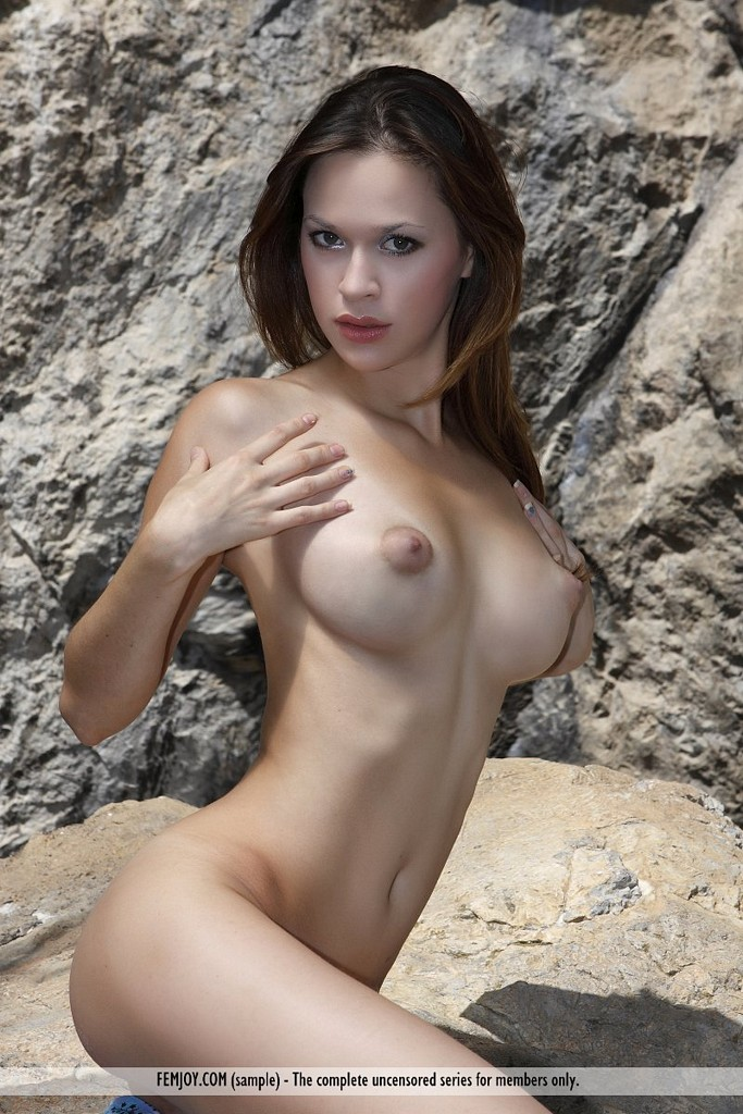 Puffy nipples busty nude