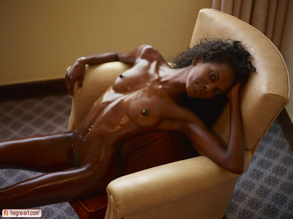 Oiled skinny black girls nude not take