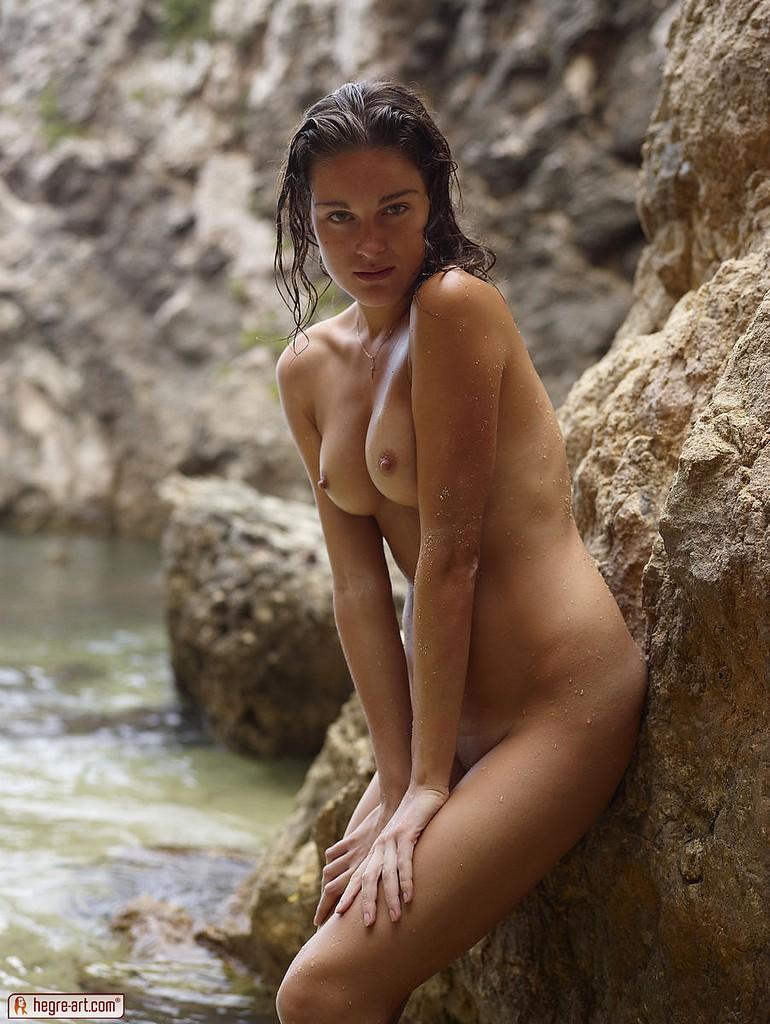 Babes wet body nude something