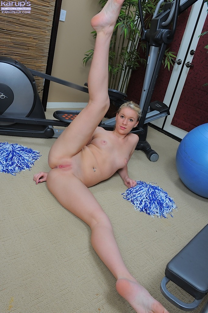 Amateur college cheerleader all?