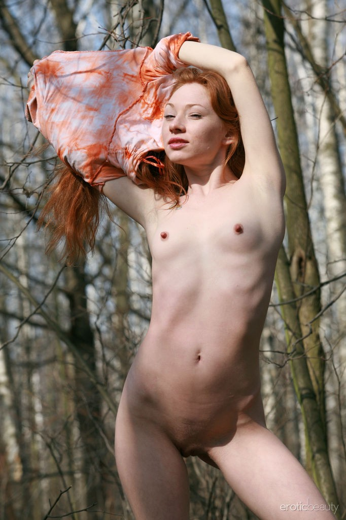 Little redhead naked impossible