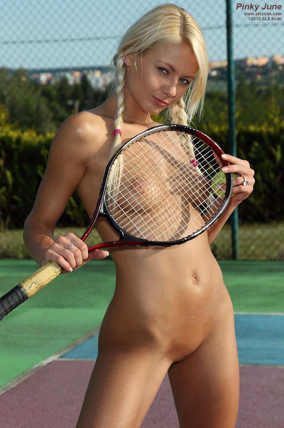 pinky june tennis