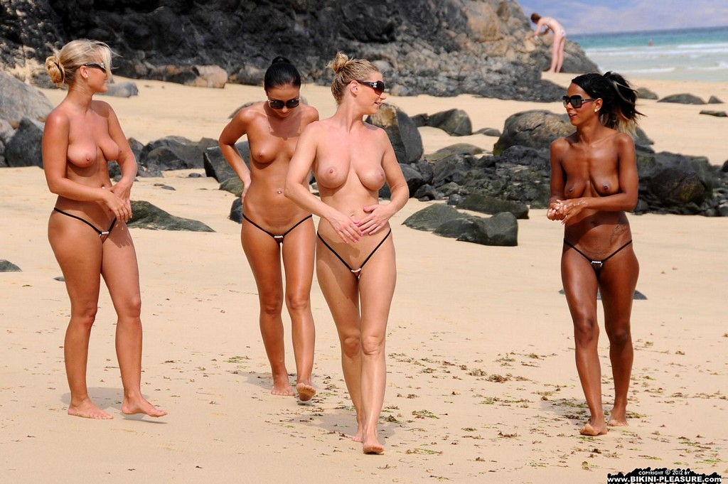 girls in thongs beach